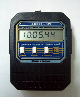 Шагомер - эргометр