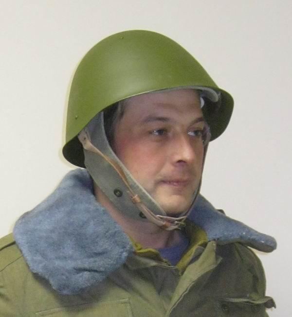 защита головы - каска армейская