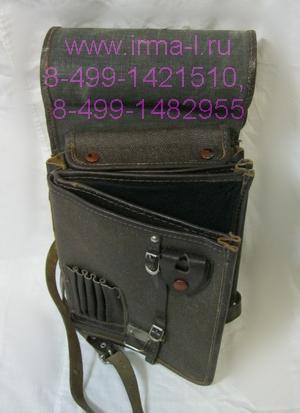 Сумка (планшетка) полевая офицерская брезентовая образца 1941 г.