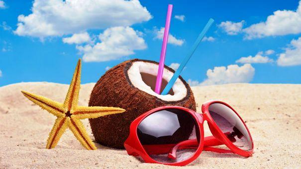 Туристический отдых на пляже