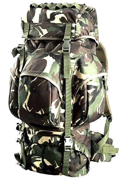 Туристический рюкзак камуфляжный - военное снаряжение