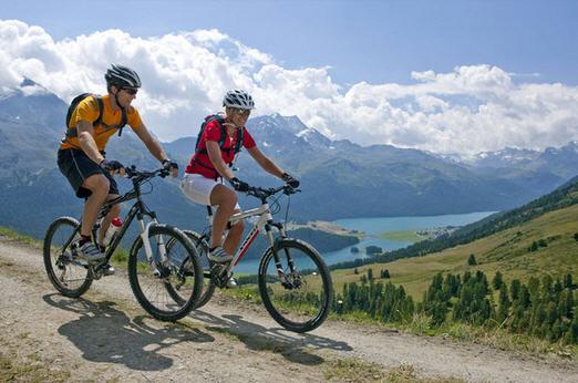 Активный отдых и туризм на горных велосипедах