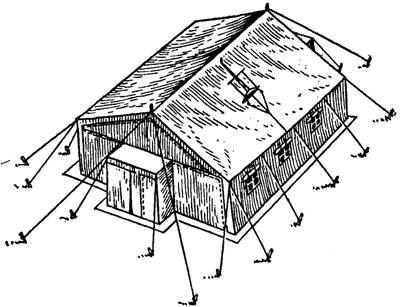 Палатка унифицированная зимняя УЗ-68 предназначена для размещения в полевых условиях личного состава воинских частей...