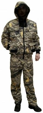 Защитный костюм для туриста - камуфляж
