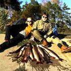 Удачная рыбалка - отдых на природе
