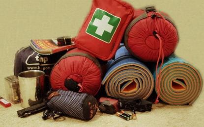 Вещи, которые необходимо взять с собой в поход