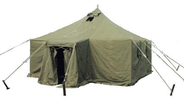 Палатка брезентовая военная СССР